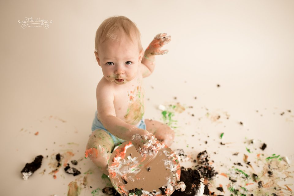 Ottawa cake smash photography